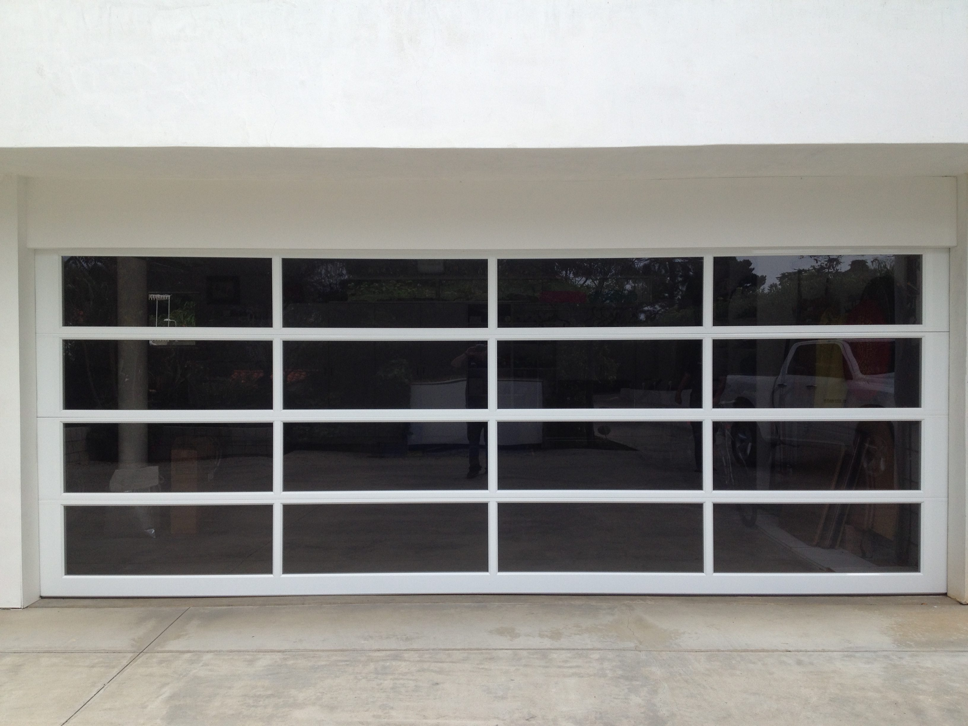 garage best pinterest inside full loversiq door modern plain intended exterior commercial images doors vista for on clear view aluminum glass