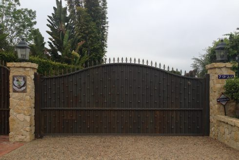 Wrought Iron Custom Gates